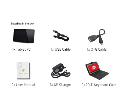 tablet pc details and accessories